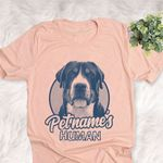 Personalized Greater Swiss Mountain Dog Shirts For Human Bella Canvas Unisex T-shirt