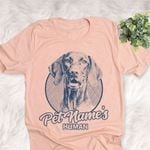 Personalized Vizsla Dog Shirts For Human Bella Canvas Unisex T-shirt