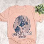 Personalized Weimaraner Dog Shirts For Human Bella Canvas Unisex T-shirt