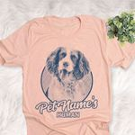 Personalized Welsh Springer Spaniel Dog Shirts For Human Bella Canvas Unisex T-shirt