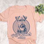 Personalized Welsh Terrier Dog Shirts For Human Bella Canvas Unisex T-shirt
