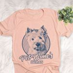 Personalized West Highland White Terrier Dog Shirts For Human Bella Canvas Unisex T-shirt
