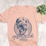 Personalized Wheaten Terrier Dog Shirts For Human Bella Canvas Unisex T-shirt