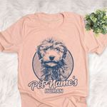 Personalized Whoodle Dog Shirts For Human Bella Canvas Unisex T-shirt