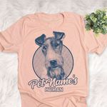 Personalized Wire Fox Terrier Dog Shirts For Human Bella Canvas Unisex T-shirt