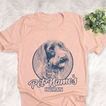 Personalized Wirehaired Pointing Griffon Dog Shirts For Human Bella Canvas Unisex T-shirt