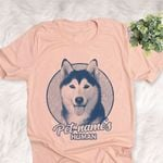 Personalized Husky Dog Shirts For Human Bella Canvas Unisex T-shirt