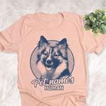 Personalized Icelandic Sheep Dog Shirts For Human Bella Canvas Unisex T-shirt