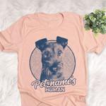 Personalized Irish Troodle Dog Shirts For Human Bella Canvas Unisex T-shirt