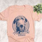 Personalized Irish Wolfhound Dog Shirts For Human Bella Canvas Unisex T-shirt