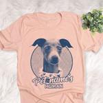 Personalized Italian Greyhound Dog Shirts For Human Bella Canvas Unisex T-shirt
