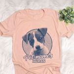 Personalized Jack Russell Terrier Dog Shirts For Human Bella Canvas Unisex T-shirt