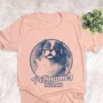 Personalized Japanese Chin Dog Shirts For Human Bella Canvas Unisex T-shirt