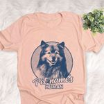 Personalized Keeshond Dog Shirts For Human Bella Canvas Unisex T-shirt