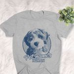 Personalized Labradoodle Dog Shirts For Human Bella Canvas Unisex T-shirt