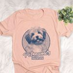 Personalized Lhasa Apso Dog Shirts For Human Bella Canvas Unisex T-shirt