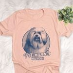 Personalized Lowchen Dog Shirts For Human Bella Canvas Unisex T-shirt