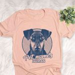 Personalized Manchester Terrier Dog Shirts For Human Bella Canvas Unisex T-shirt