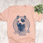 Personalized Mixed Breeds Dog Shirts For Human Bella Canvas Unisex T-shirt