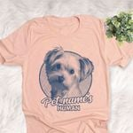Personalized Morkie Dog Shirts For Human Bella Canvas Unisex T-shirt