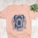 Personalized Neapolitan Mastiff Dog Shirts For Human Bella Canvas Unisex T-shirt