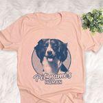 Personalized Nederlandse Kooikerhond Dog Shirts For Human Bella Canvas Unisex T-shirt