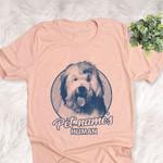 Personalized Old English Sheepdog Dog Shirts For Human Bella Canvas Unisex T-shirt