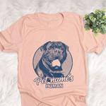 Personalized Olde English Bulldog Dog Shirts For Human Bella Canvas Unisex T-shirt