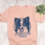 Personalized Papillon Dog Shirts For Human Bella Canvas Unisex T-shirt