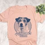 Personalized Parsons Russell Terrier Dog Shirts For Human Bella Canvas Unisex T-shirt