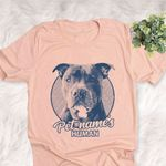 Personalized Pitpull Dog Shirts For Human Bella Canvas Unisex T-shirt
