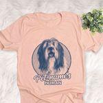 Personalized Polish Lowland Sheepdog Dog Shirts For Human Bella Canvas Unisex T-shirt
