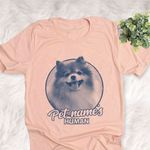 Personalized Pomeranian Dog Shirts For Human Bella Canvas Unisex T-shirt