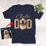 Personalized Dog Dad T-shirt Gift For Father's Day, Mother's Day, Girlfriend, Dog Owners, Birthday Gift For Boyfriend, Dad