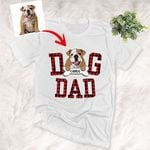 Personalized Furry Dad T-shirt Gift For Mom, Mama On Mother's Day, Dog Lovers