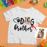Personalized Dog Sis & Bro Colorful Painting Women T-shirt Kids for Dog lovers