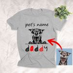 Personalized Dog Mom Best Gift For Mother's Day Custom T-shirt