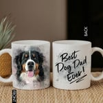 This Is What An Awsome Dad/Mom Looks Like Pet Portrait Personalized Mug Father's Day Gift, Gift for Dog Dad, Dog Papa