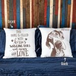 This Home Is Filled With Kisses Wagging Tails Wet Noses And Love Customized Pillow Case Gift For Dog Parents