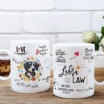 The Labra-Law Personalized Coffee Mug Gift For Fur Parents, Dog Lovers