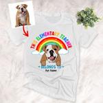 Customs Teacher T-shirt This Elementary Teacher belongs to - Back to school unisex T-shirt for Pet Lovers