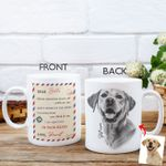 Dear Human Personalized Coffee Mug Gift For Dog Lovers