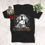 Hello New Students Customized Dog Photo T-Shirt Love Student Back To School Shirt