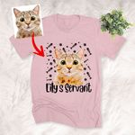 Personalized Cat Colorful Unisex T-shirt, Gift for Catlovers, Cat Mom