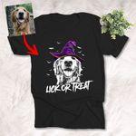Halloween Custom Dog Portrait T-Shirt
