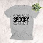 Spooky Shirt Halloween Graphic Quote T-Shirt