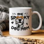 One Spooky Dog Mom Custom Dog Sketch Coffee Mug Gift For Spooky Dog Mom, Fur Mom, Dog Lovers