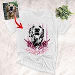 Spooky Dog Mom American Flag Unisex Halloween T-Shirt Gift For Halloween, Spooky Dog Lover