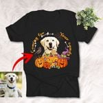 Coming For Your Candy Colorful Dog Halloween T-Shirt Dog Lover Gift