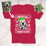Official Cookie Taster Ugly Christmas Vacation T-shirt